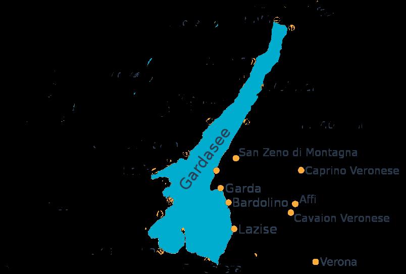 Gardasee Ostufer Orte
